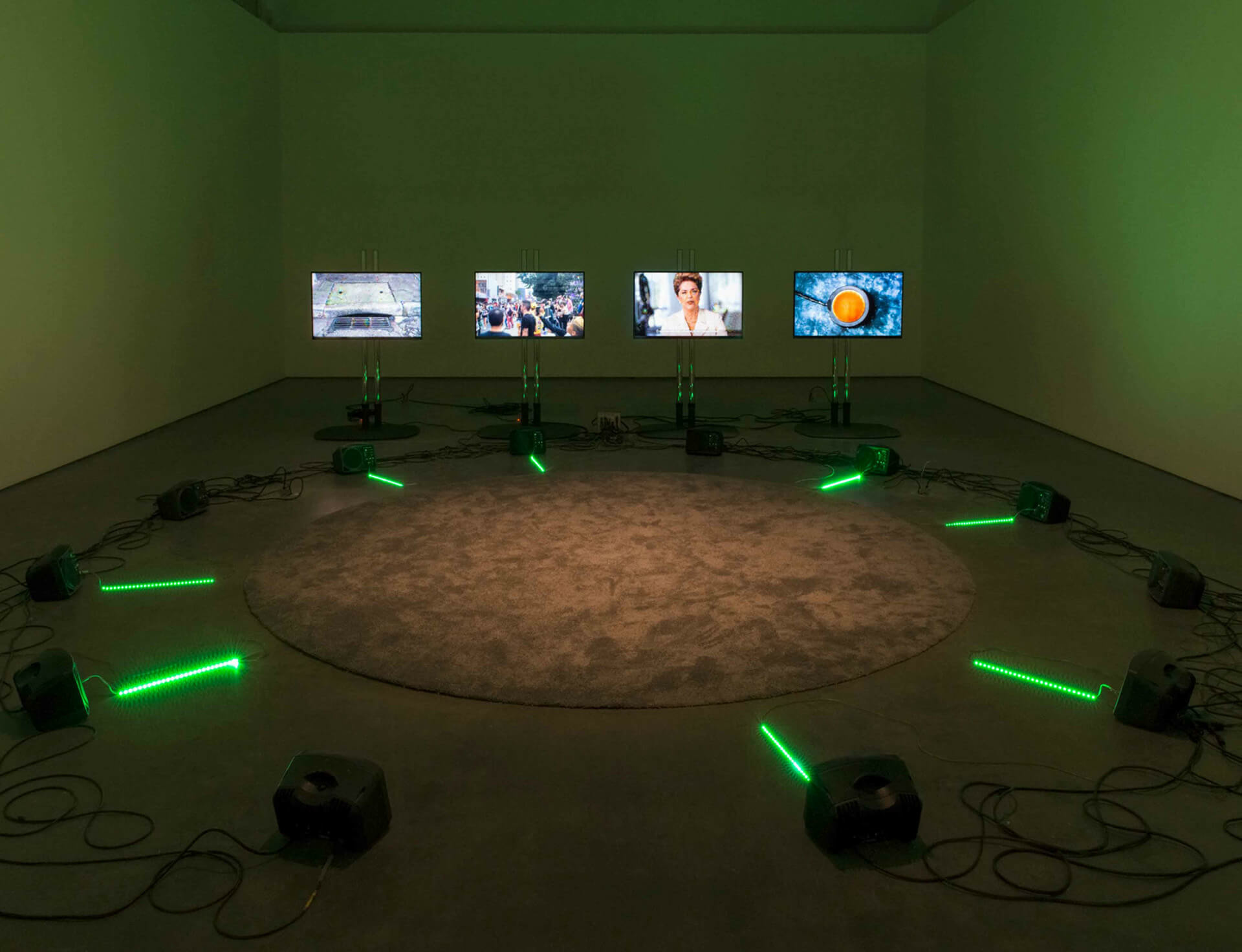 Haroon Mirza inaugurates Lisson Gallery's second space in New York