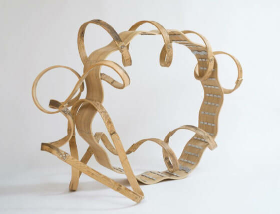 Richard Deacon's first US museum show at The San Diego Museum of Art