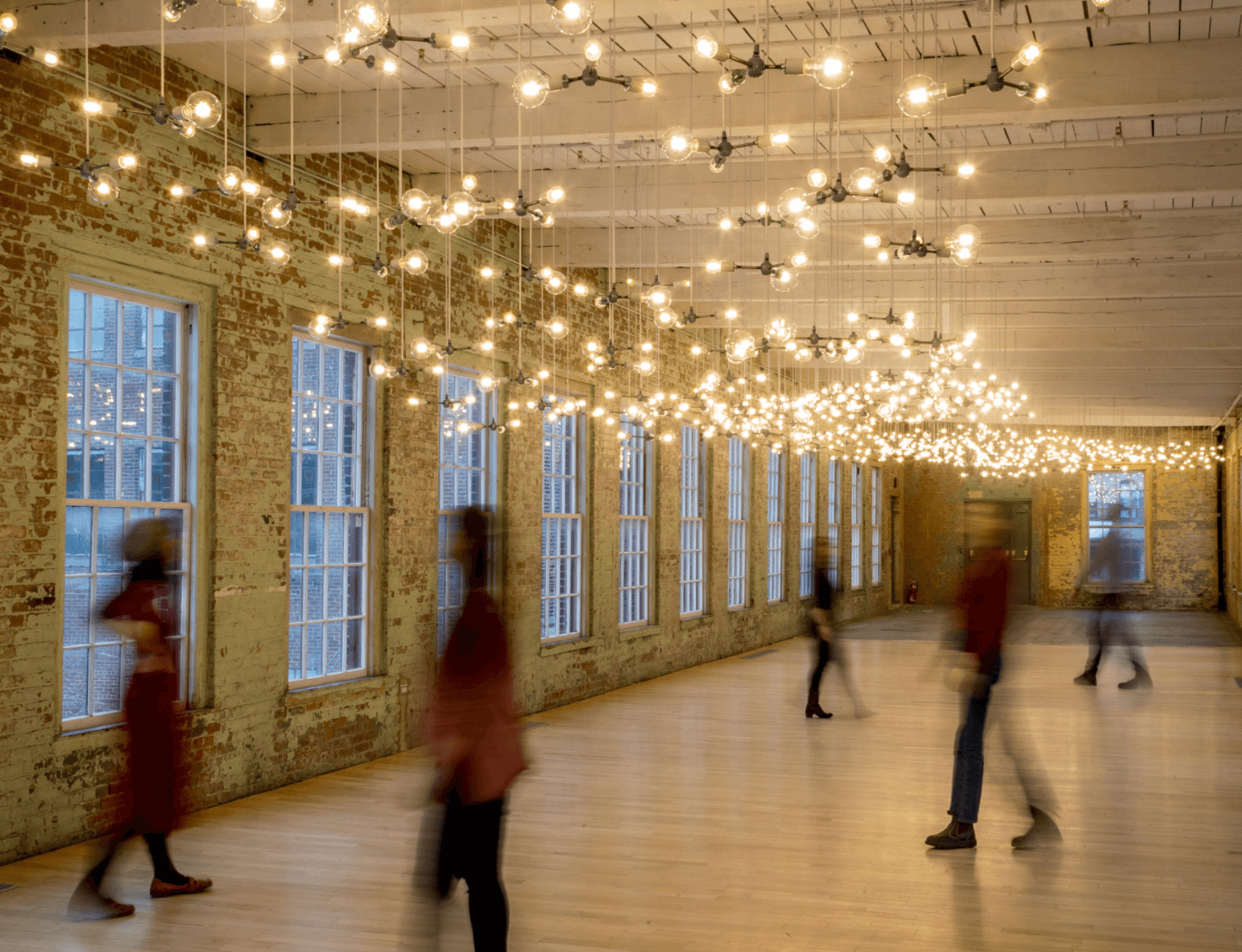 Spencer Finch 'Cosmic Latte' now on view at MASS MoCA