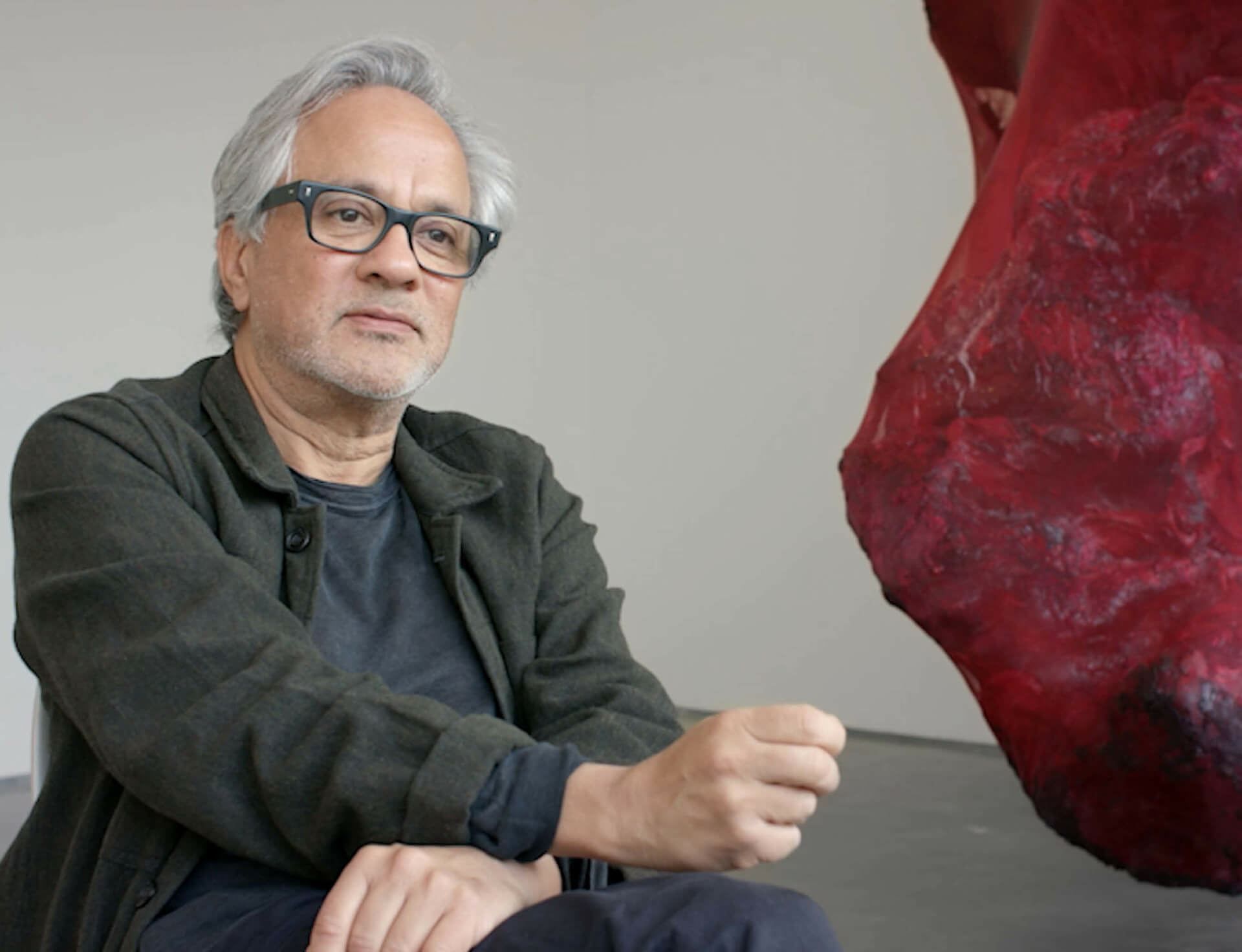 Watch Now: Anish Kapoor on his 16th exhibition with Lisson Gallery