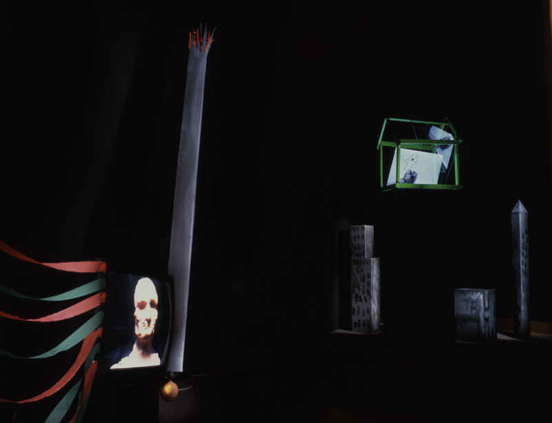 Tony Oursler's first video presented alongside most recent film in Barcelona