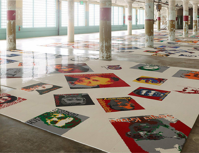 Ai Weiwei 'Trace' opens at the Hirshhorn Museum in Washington, DC