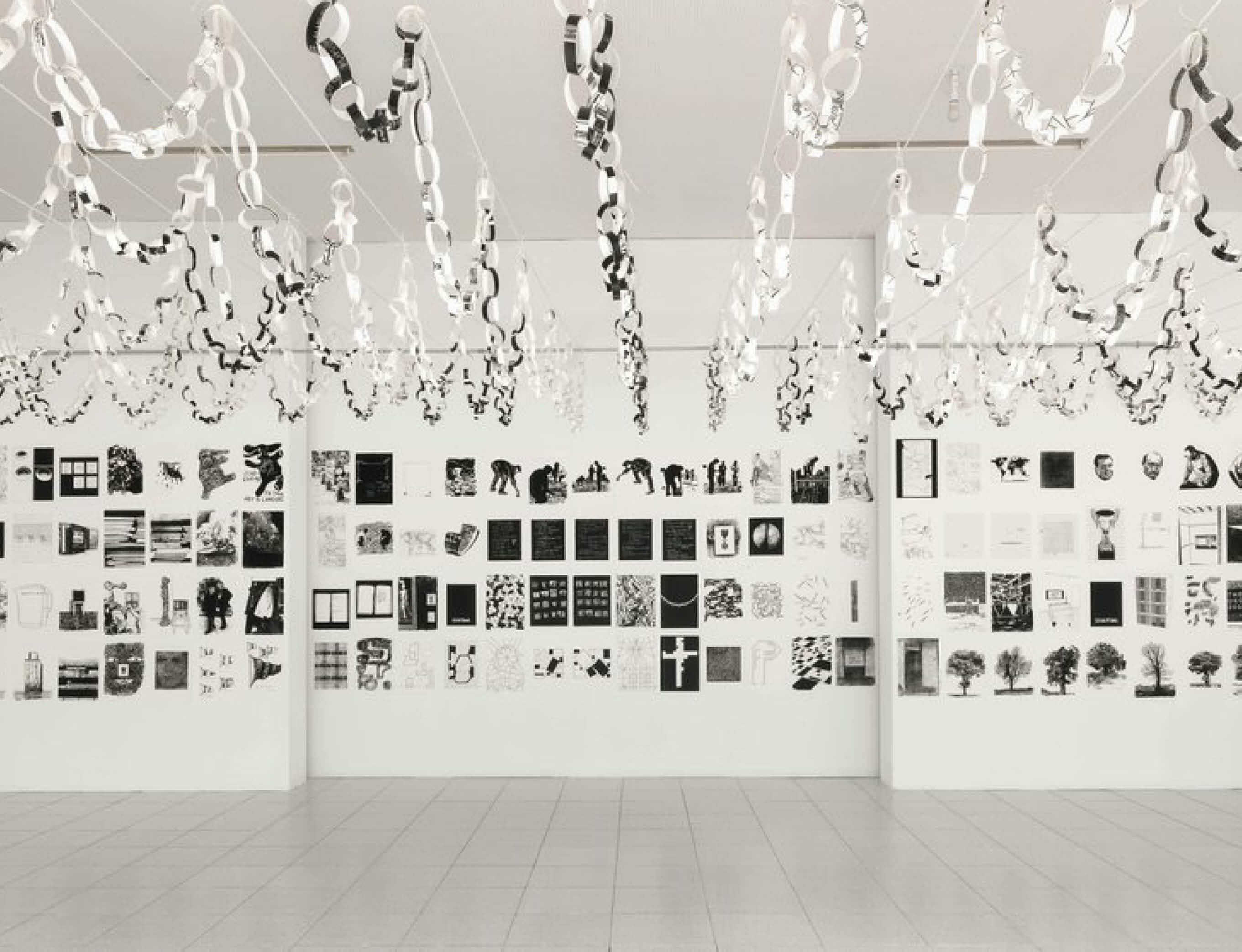 Art & Language present 'Nobody Spoke' at Kunstaele, Berlin, Germany