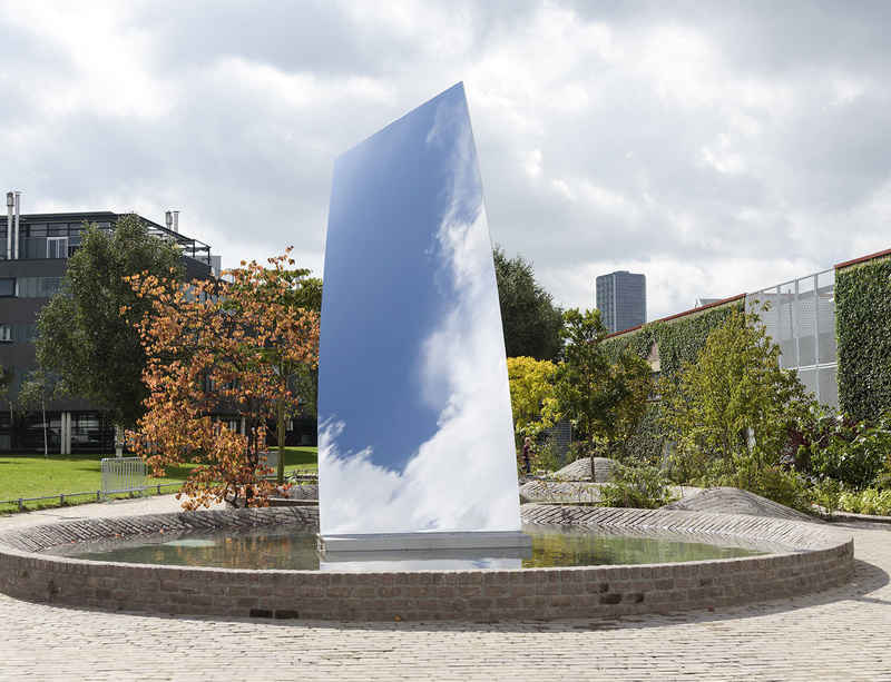 Anish Kapoor unveils new sculpture at De Pont Museum in the Netherlands