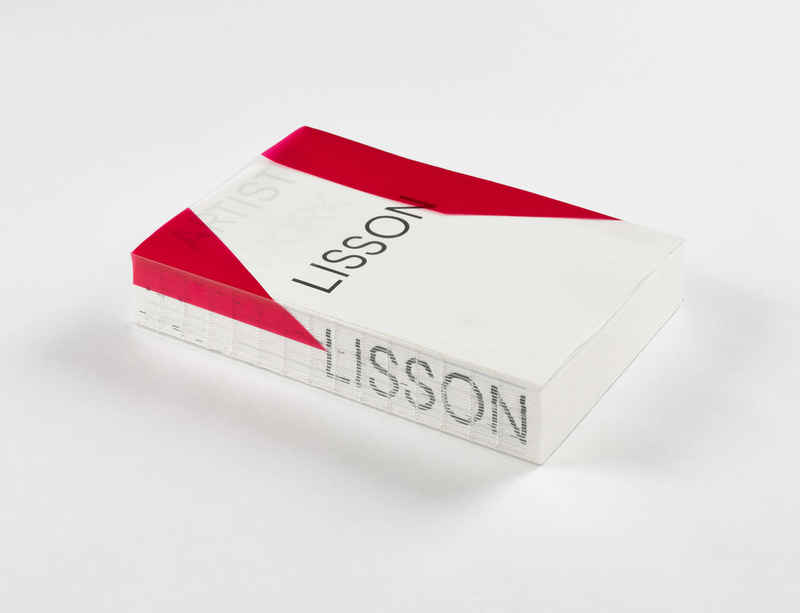 Lisson Gallery launches publication in celebration of its 50th anniversary