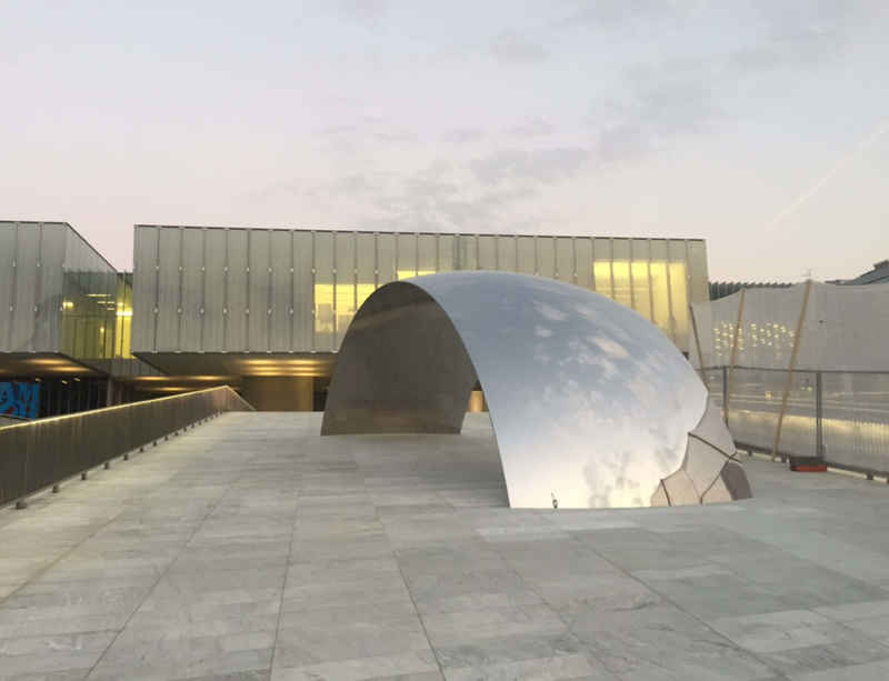 Anish Kapoor unveils a new commission at MAST Foundation in Bologna, Italy