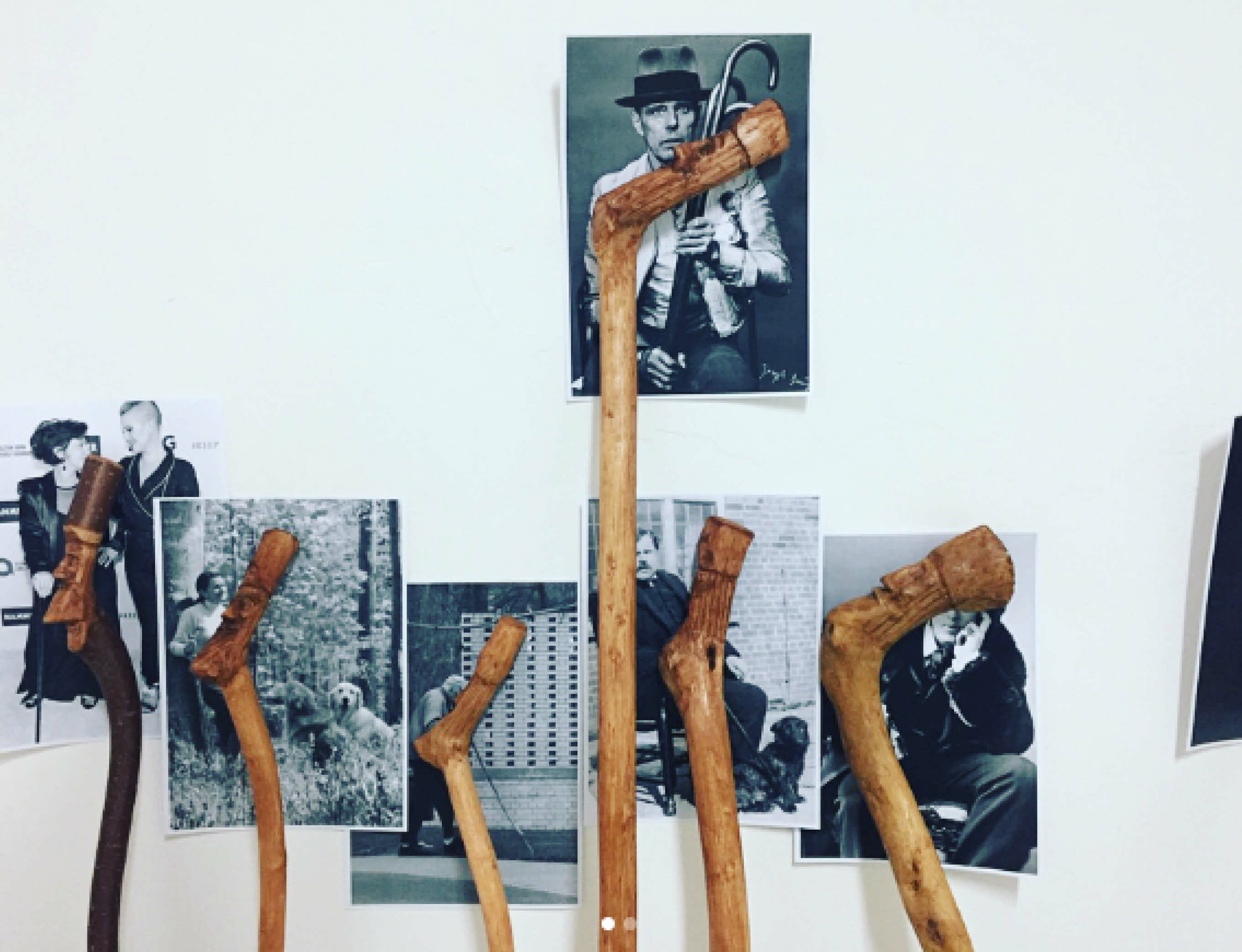 Christian Jankowski considers the significance of walking sticks in new show