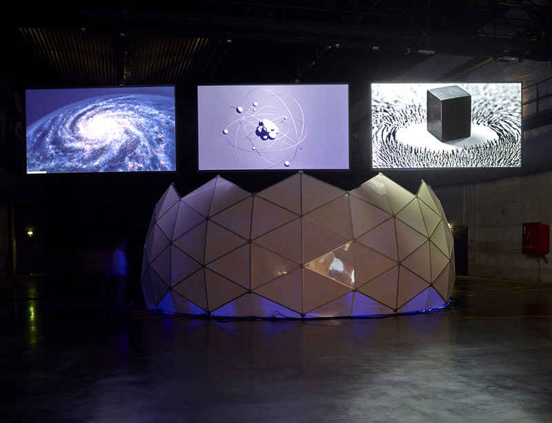 Experience Haroon Mirza's 'Dancing with the Unknown' in Copenhagen