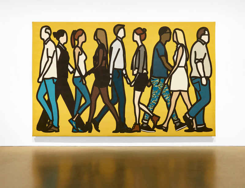 Julian Opie opens first exhibition in Busan, South Korea at F1963