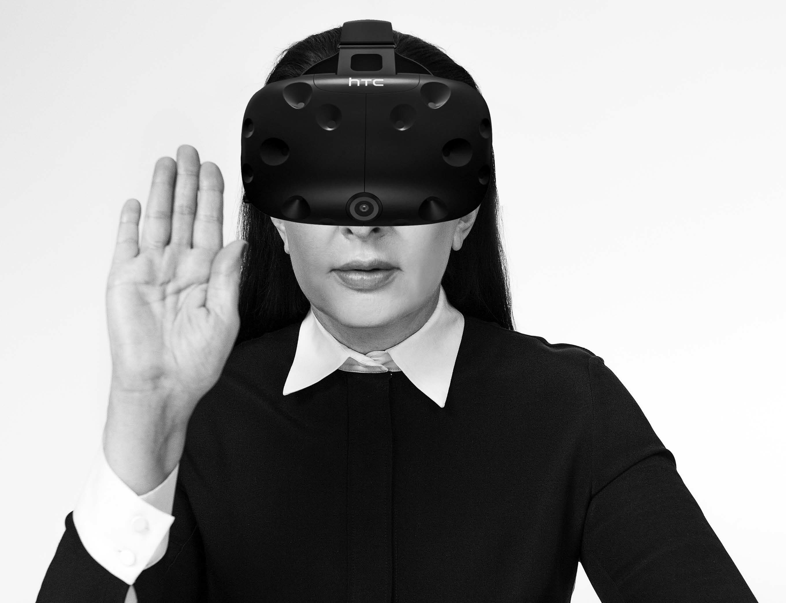 Marina Abramović and Anish Kapoor take to virtual reality