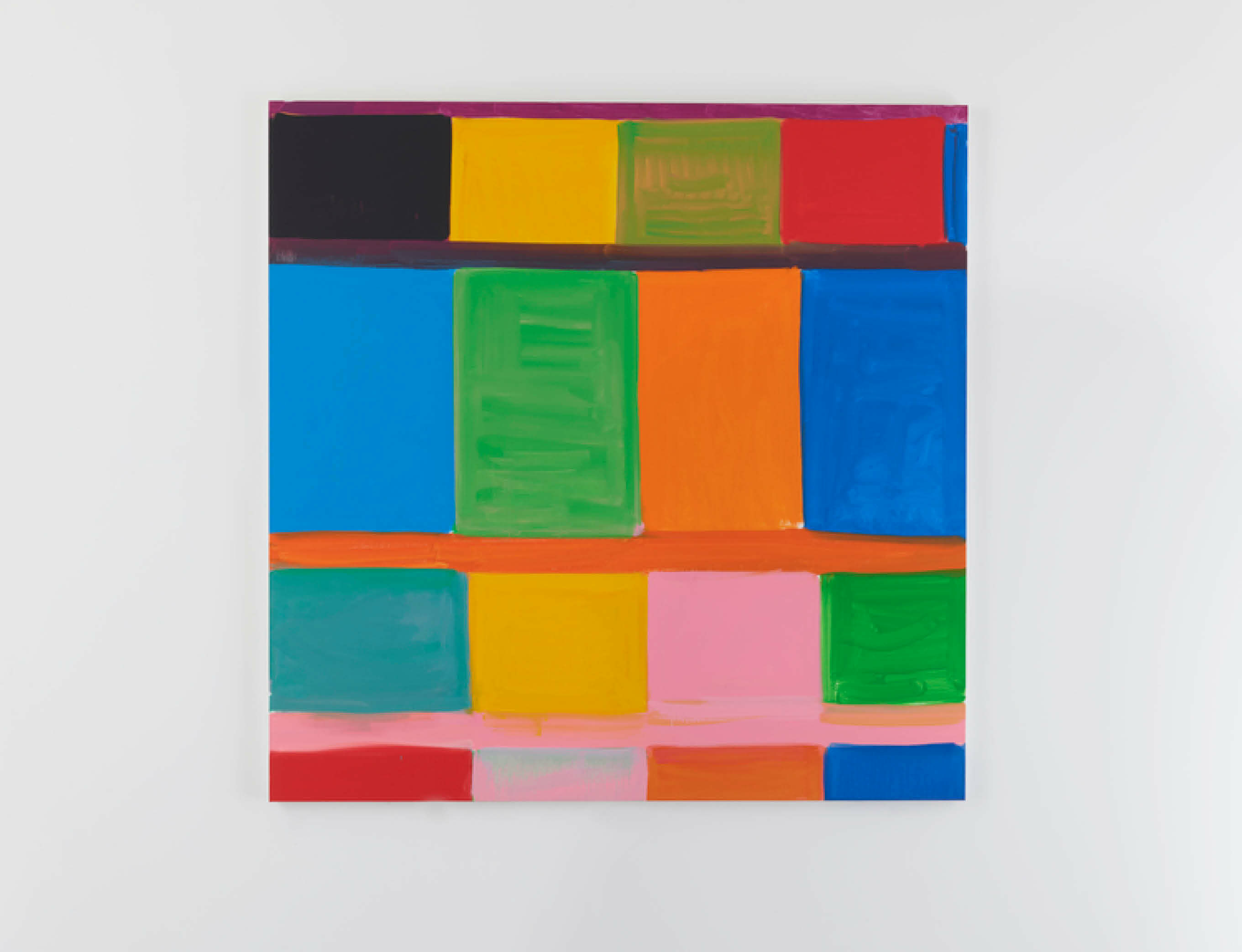 Stanley Whitney challenges ideas of abstraction in new exhibition