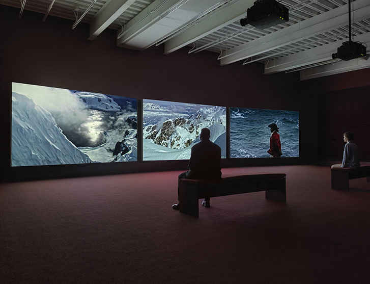 John Akomfrah's first survey exhibition in America opens at New Museum