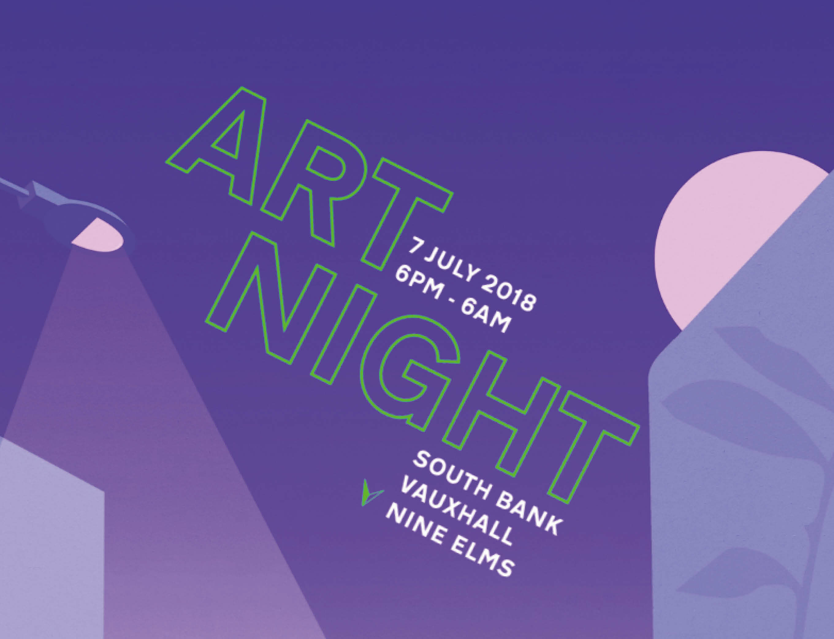 Hans Berg, Haroon Mirza and Laure Prouvost feature in Art Night 2018