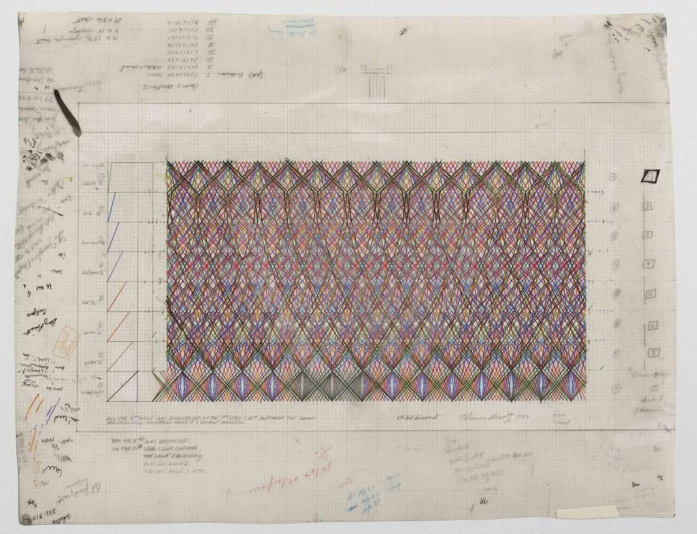 First exhibition in Canada of work by Channa Horwitz opens in Vancouver