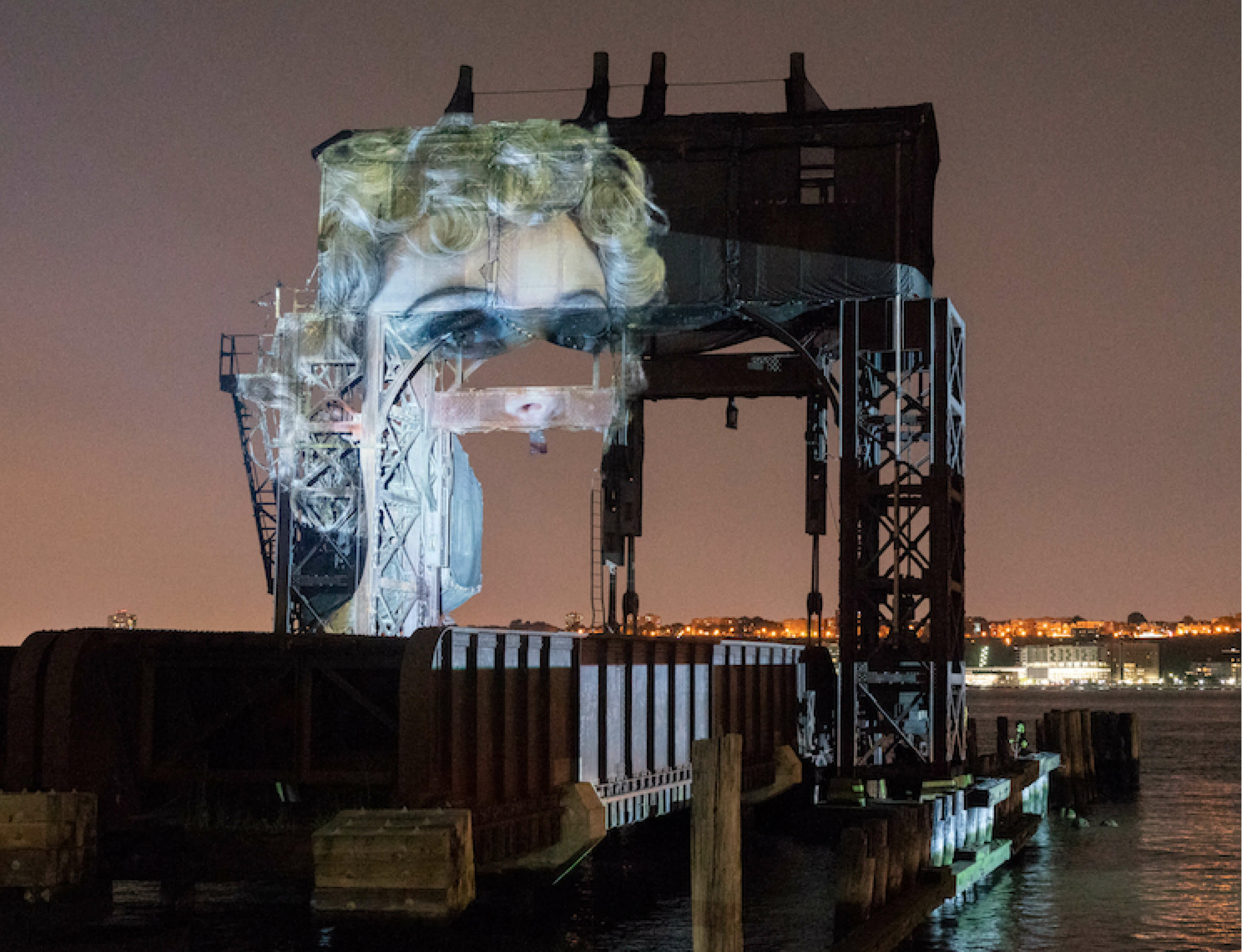 Tony Oursler unveils Tear of the Cloud for the Public Art Fund
