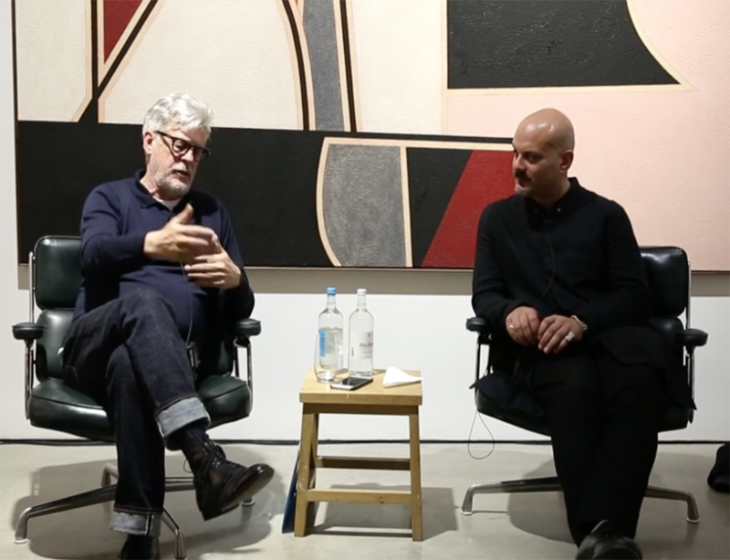 Watch now: Rodney Graham discusses his recent exhibition