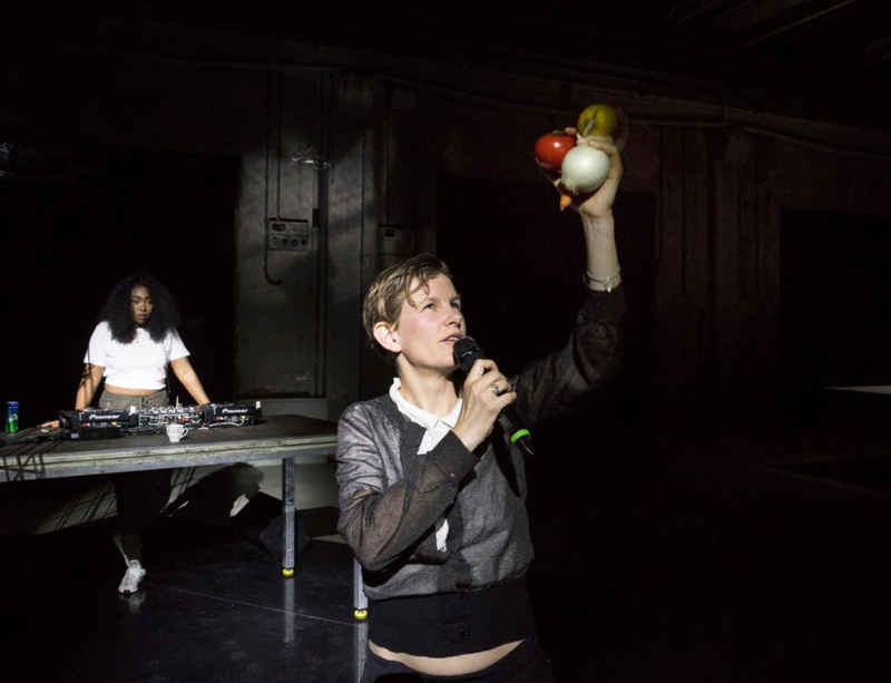 Sound work by Laure Prouvost on view at Independent Brussels