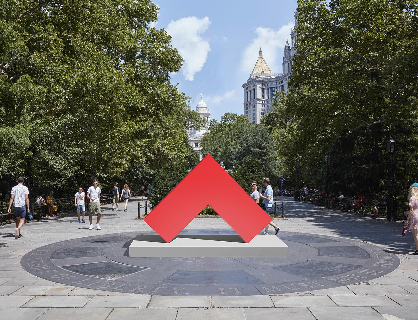 Public Art Fund opens Carmen Herrera in New York City