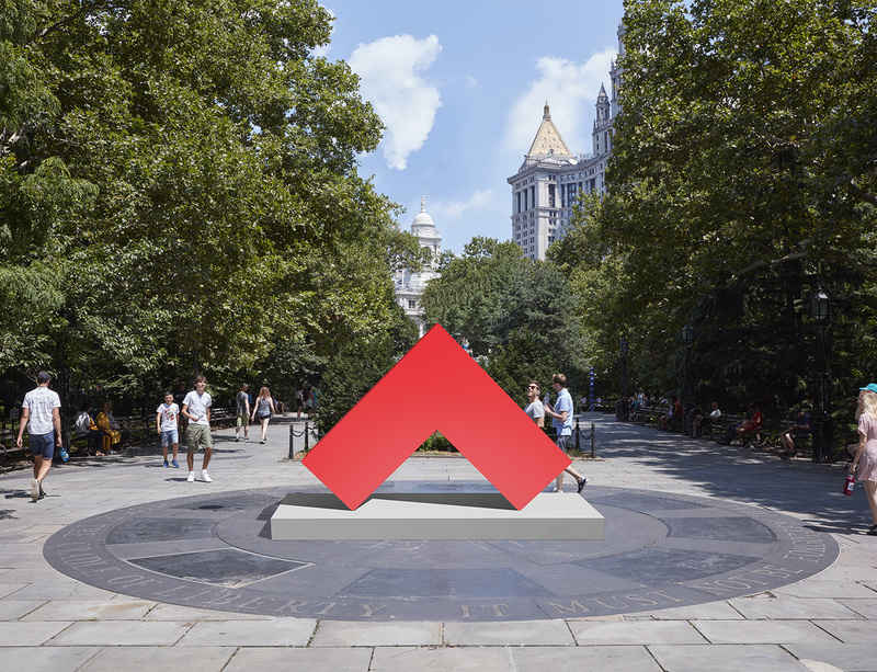 Public Art Fund opens Carmen Herrera in New York City
