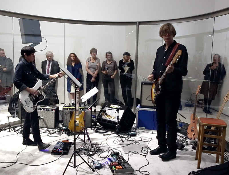 Part I: Performance by Thurston Moore and Deb Googe celebrates Dan Graham's 'Rock 'n' Roll'