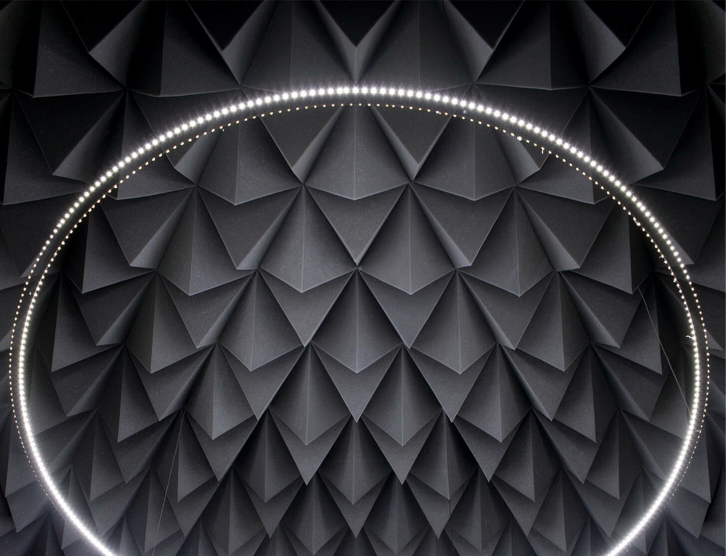 Haroon Mirza's largest exhibition to date opens at Ikon Gallery