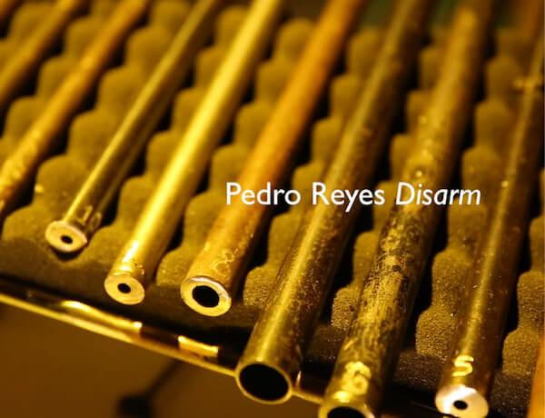 Watch now: Pedro Reyes, 'Disarm' performance