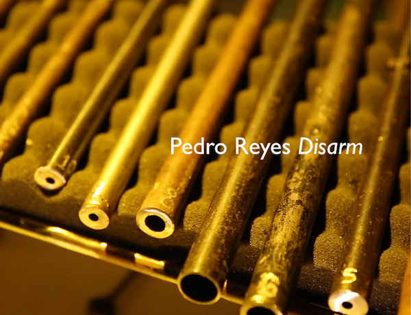 Watch now: Pedro Reyes, 'Disarm' performance
