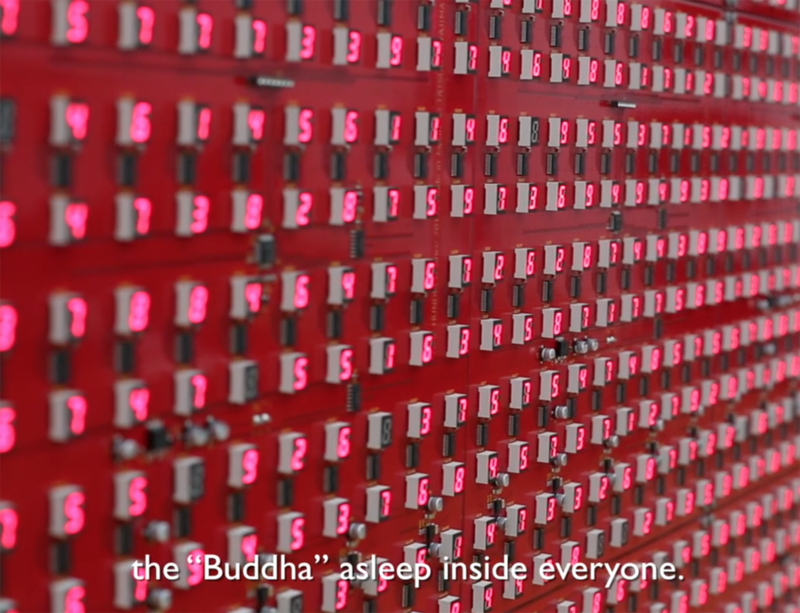 Watch now: behind the scenes with Tatsuo Miyajima