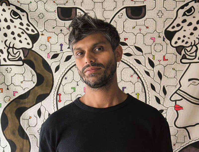 Listen Online: Haroon Mirza discusses new installation on BBC
