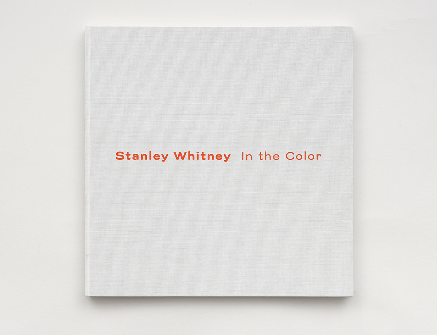 'Stanley Whitney: In The Color' publication is now available