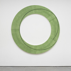 Robert Mangold: New Paintings and Works on Paper, The Ring Series
