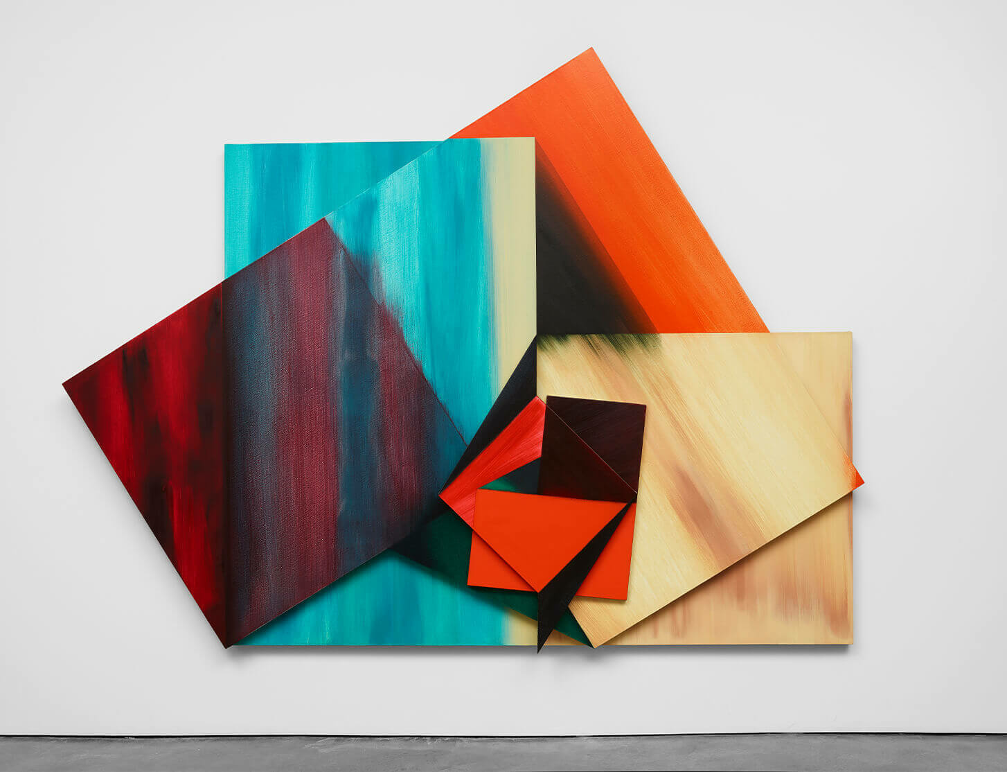 Review 'Painters Reply: Experimental Painting in the 1970s and Now' in The New York Times