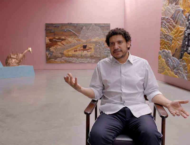 Watch now: Wael Shawky speaks about The Gulf Project Camp at Lisson Gallery New York