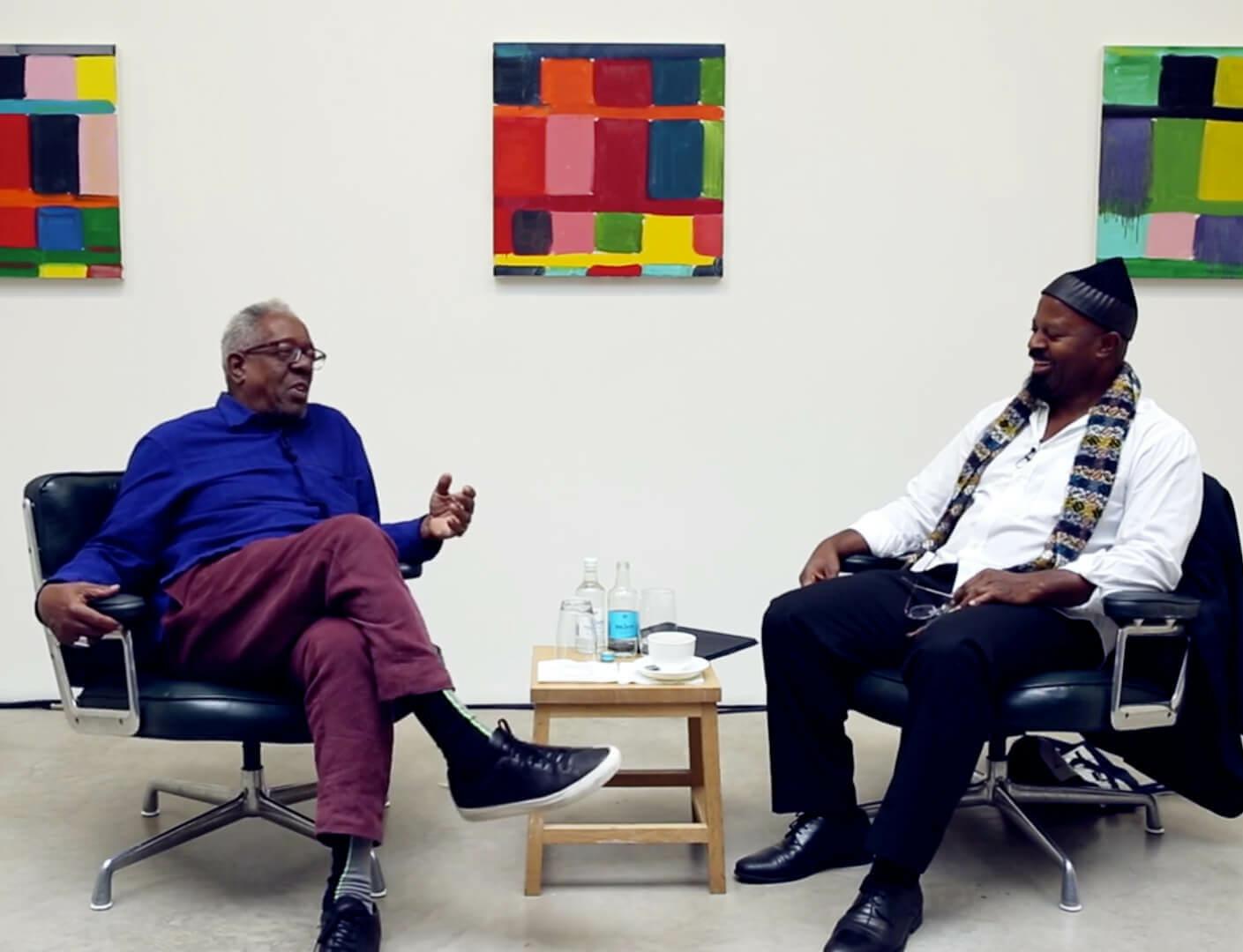 Watch now: Stanley Whitney and Ben Okri in conversation