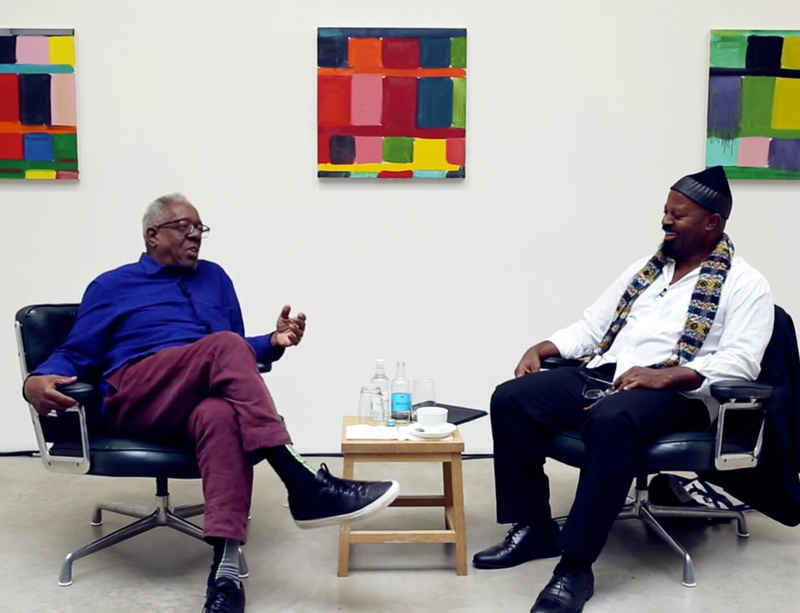 Watch now: Stanley Whitney and Ben Okri in conversation