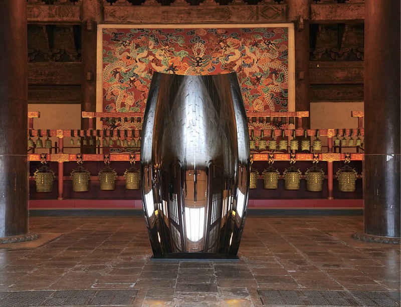 Anish Kapoor opens new exhibition at Central Academy of Fine Arts & the Imperial Ancestral Temple in Beijing