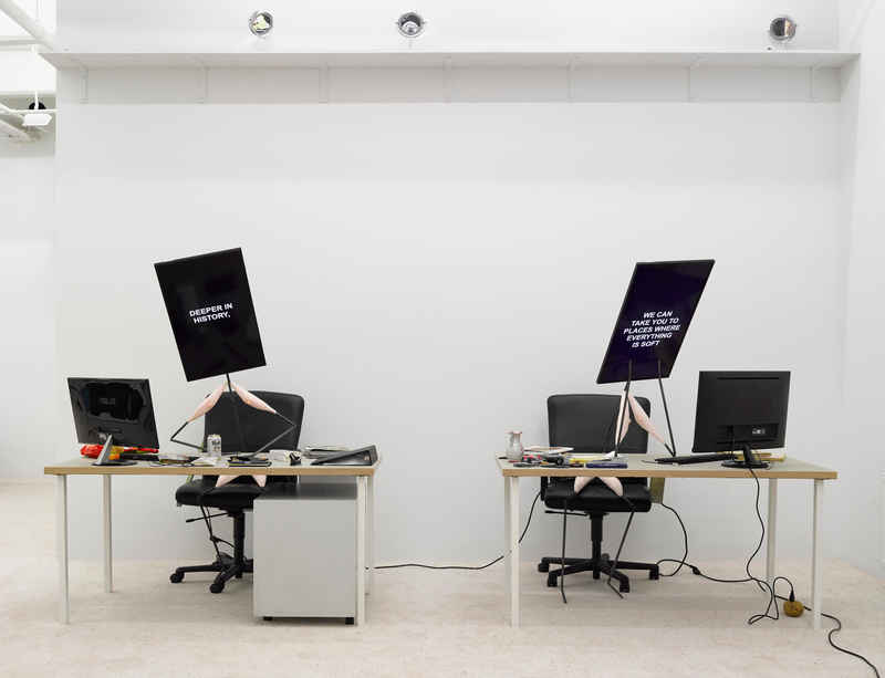 Laure Prouvost's 'Deep Travel Ink' presented at the new Art Basel Miami Beach Meridians sector