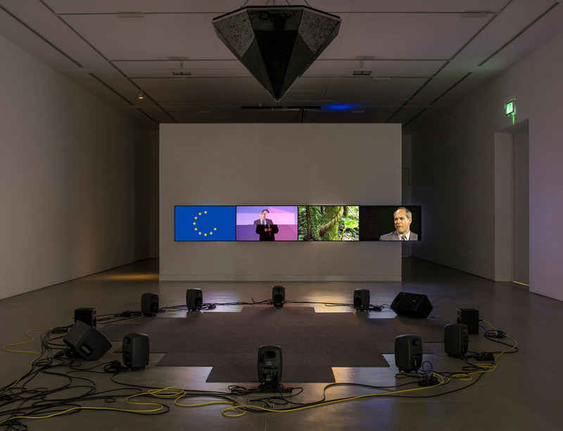 Haroon Mirza in conversation at John Hansard Gallery