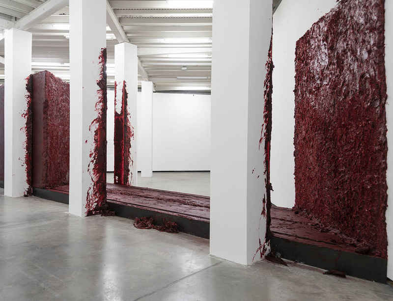 Solo exhibition 'Surge' by Anish Kapoor at Fundación PROA, Argentina