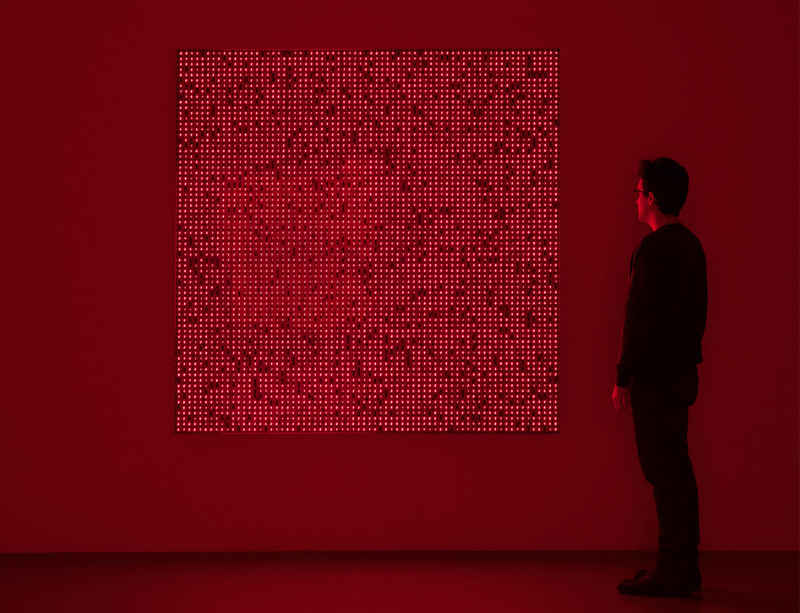 Tatsuo Miyajima opens at Santa Barbara Museum of Art