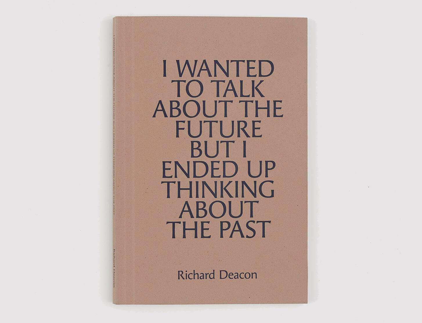 New book by Richard Deacon now available to purchase