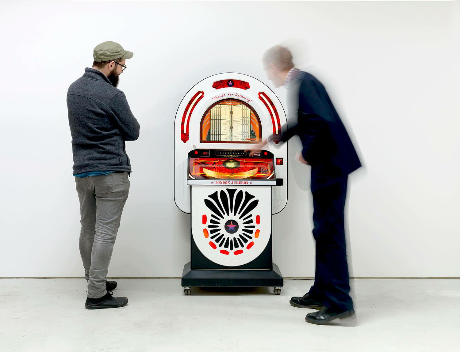Bloomberg Space presents Susan Hiller's London Jukebox