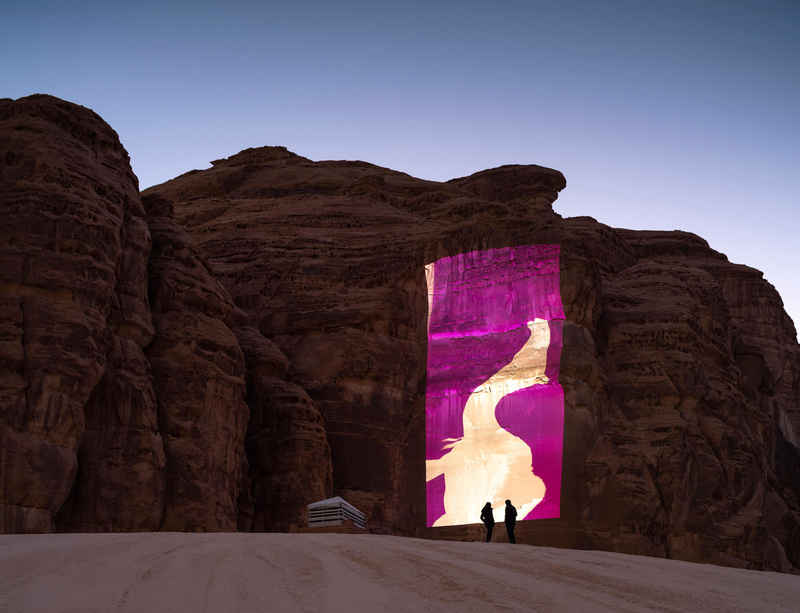 New installation by Wael Shawky opens at Desert X AlUla