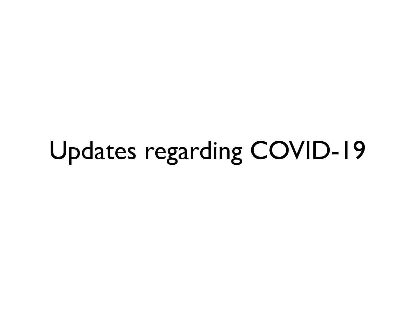 Updates from Lisson Gallery regarding COVID-19