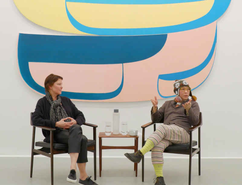 Watch now: Joanna Pousette-Dart in conversation with Phong Bui