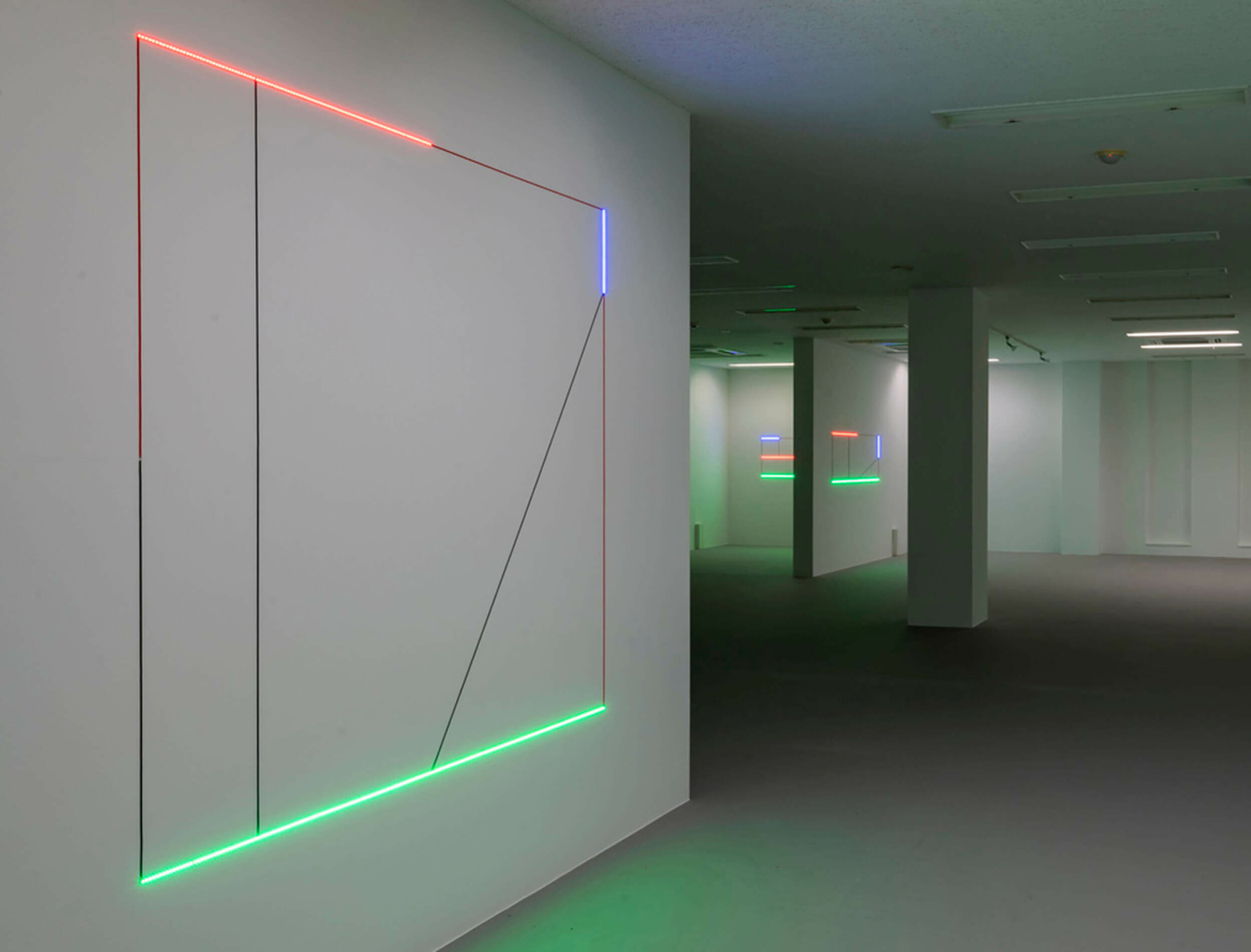 Final week of Haroon Mirza at CCA Kitakyushu, Japan