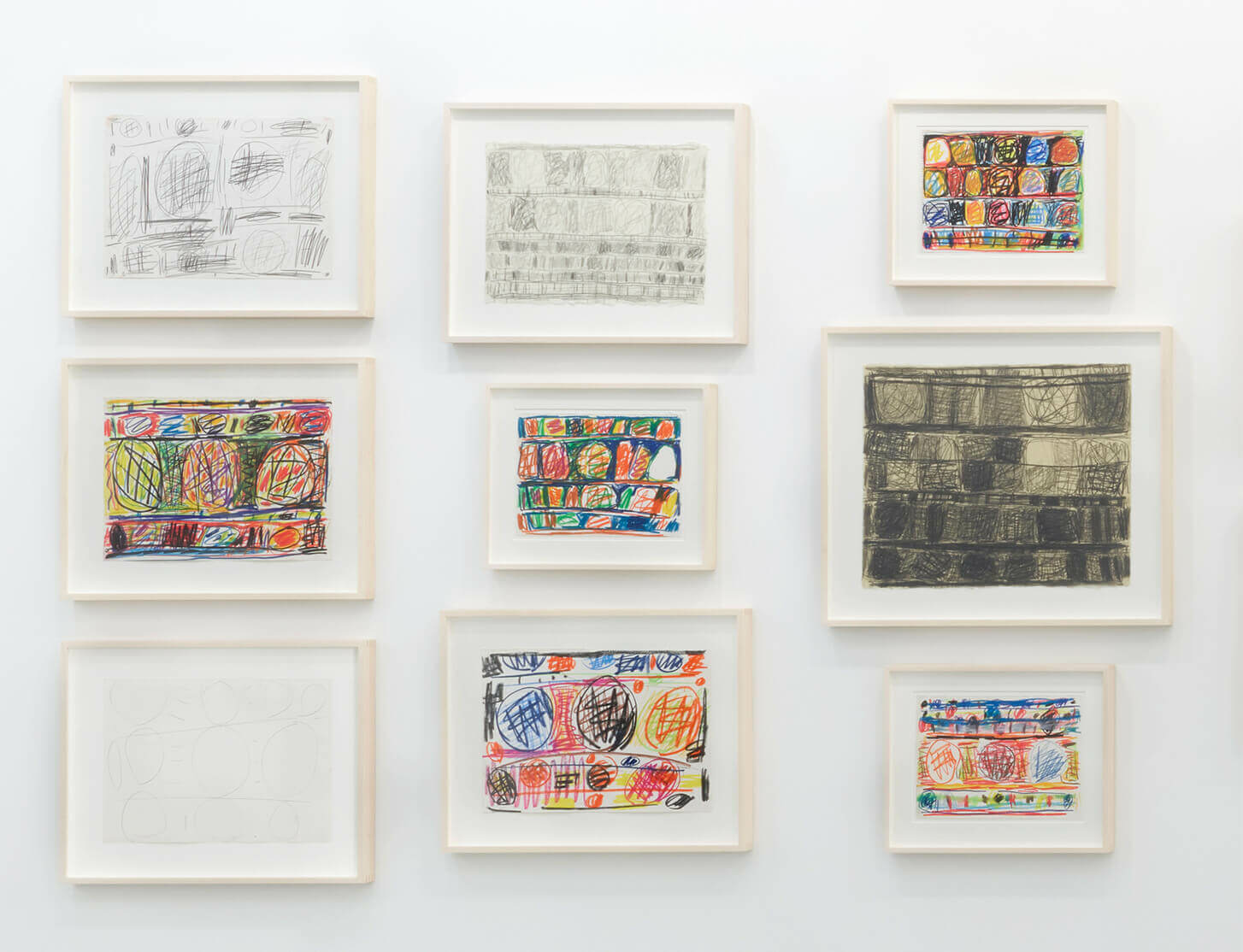 Stanley Whitney's 'Drawings' Review in Artforum