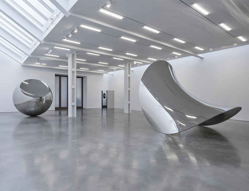 Watch now: Anish Kapoor at Lisson Gallery, New York