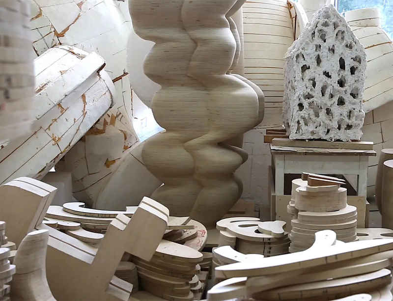 In the studio with Tony Cragg