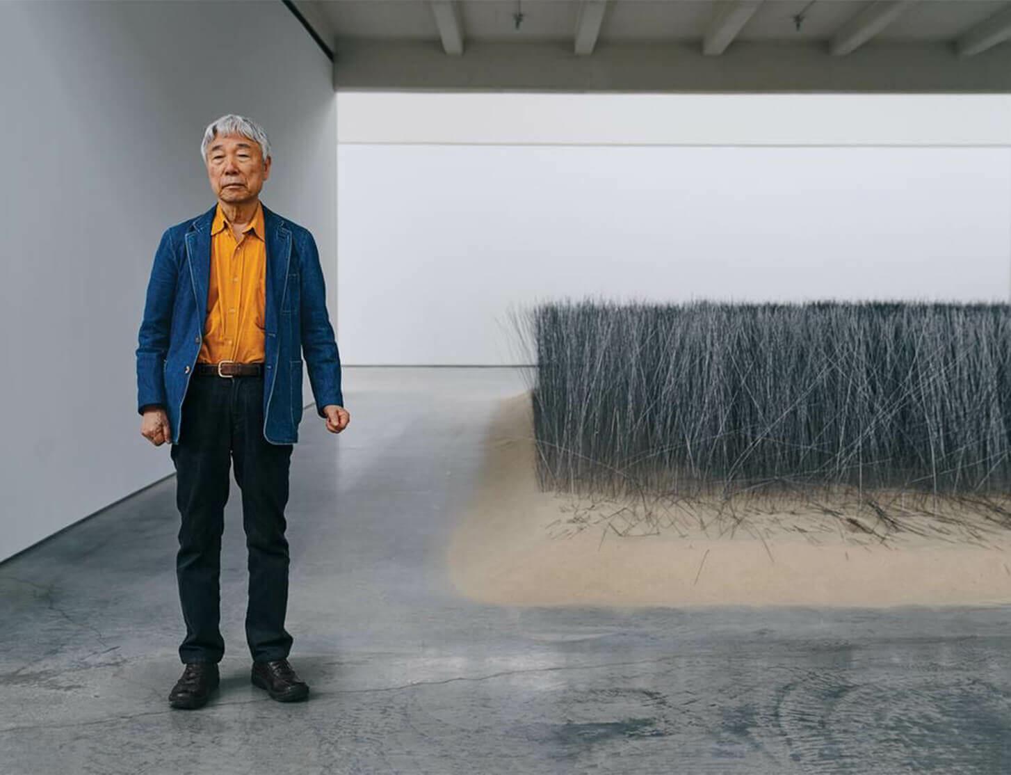 Lee Ufan's Quietly Groundbreaking Five-Decade Career - WSJ
